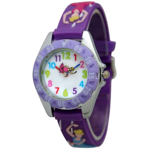Olivia Pratt Kid's Ballerina Watch - Purple