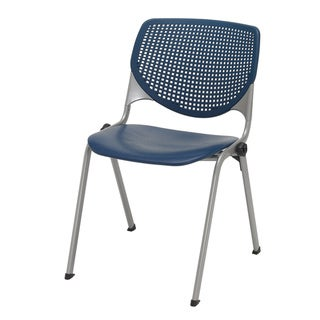 KFI KOOL Polypropylene Stack Chair with Perforated Back