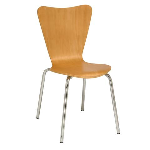 KFI Contemporary Wood Cafe Chair
