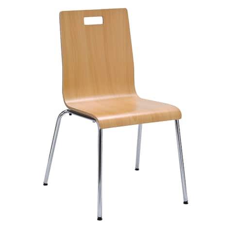 Carbon Loft McKeag Bentwood Laminate Armless Cafe Chair