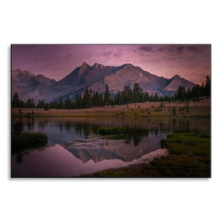 Gallery Direct RMB Images 'Third Recess' Aluminum Mounted