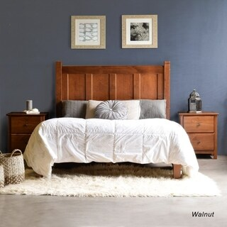 grain wood furniture shaker solid wood fullsize panel platform bed