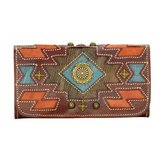 American West Zuni Passage Wallet
