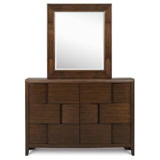 Magnussen Y1876 Twilight Wood Portrait Mirror (Mirror Only)