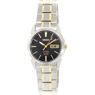 Seiko Men's Silver Titanium Quartz Watch