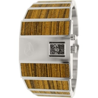 Nixon Men's Rotolog A028439 Stainless Steel Quartz Watch