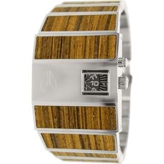 Nixon Men's Rotolog A028439 Stainless Steel Quartz Watch