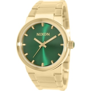 Nixon Men's Cannon A1601919 Gold Stainless Steel Quartz Watch