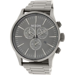 Nixon Men's Sentry A386632 Stainless Steel Quartz Watch