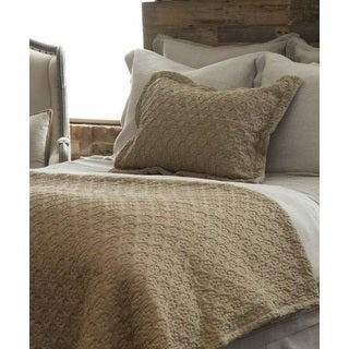 Amy Taupe Cotton Pillow Sham (3 options available)