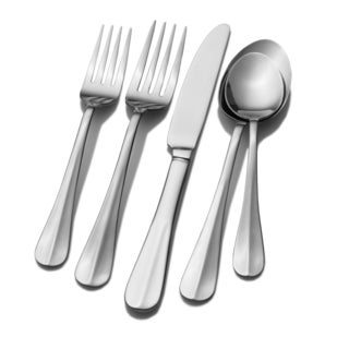International Silver Simplicity 101 Piece Flatware Set