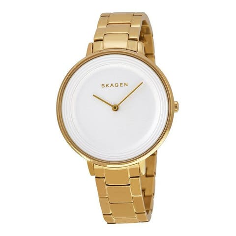 Skagen Women's Ditte SKW2330 Gold Stainless Steel Quartz Watch