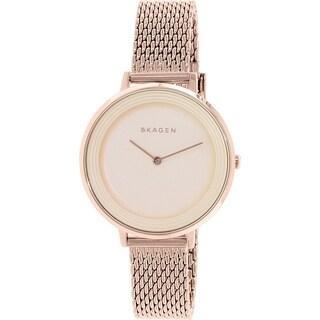Skagen Women's Ditte SKW2334 Rose Gold Stainless Steel Quartz Watch