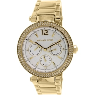 Michael Kors Women's Parker MK5780 Gold Stainless Steel Quartz Watch