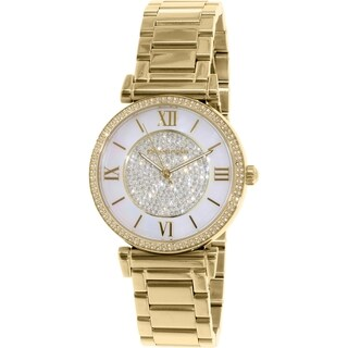 Michael Kors Women's Kerry MK3332 Gold Stainless Steel Quartz Watch