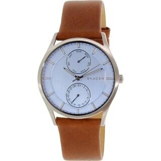 Skagen Women's Holst SKW6178 Brown Leather Quartz Watch