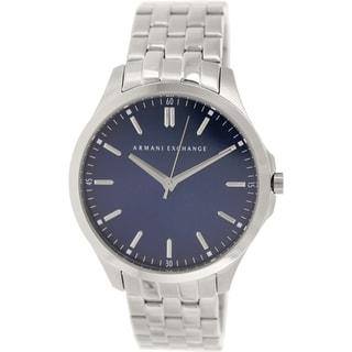 Armani Exchange Men's AX2142 Metallic Stainless Steel Quartz Watch