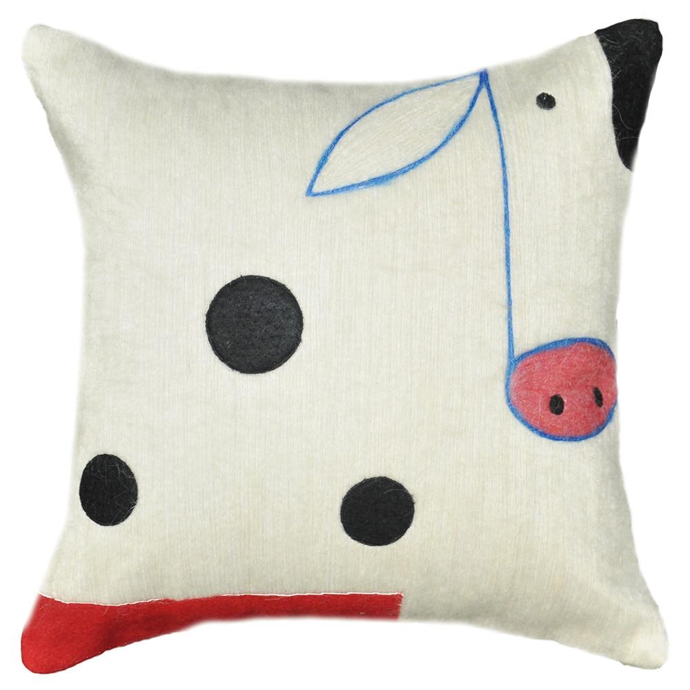 Cow Deco Pillow (Cow Decorative Pillow), Multi, Size 13 x...