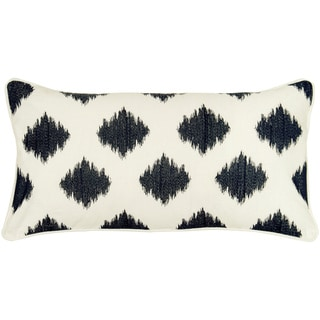 Rizzy Home 11 x 21 Ikat Accent Pillow
