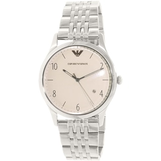 Emporio Armani Men's Beta AR1881 Stainless Steel Quartz Watch