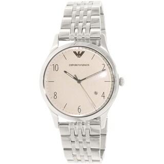 Emporio Armani Men's Beta AR1881 Stainless Steel Quartz Watch