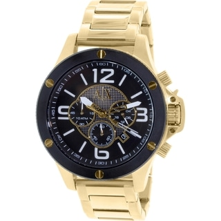 Armani Exchange Men's Street AX1511 Gold Stainless Steel Quartz Watch