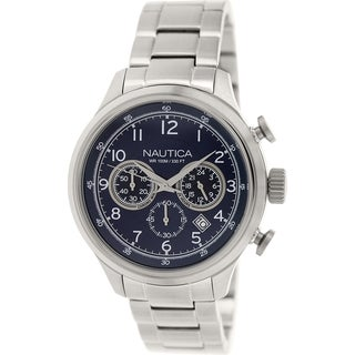 Nautica Men's Nct 16 N19630G Stainless Steel Quartz Watch