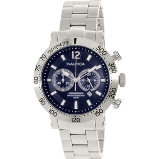 Nautica Men's Nws 200 N23098G Stainless Steel Quartz Watch