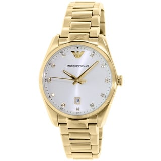 Emporio Armani Women's Classic AR6064 Gold Stainless Steel Quartz Watch