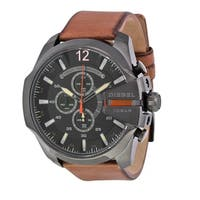 Diesel Men's  Mega Chief Black Watch