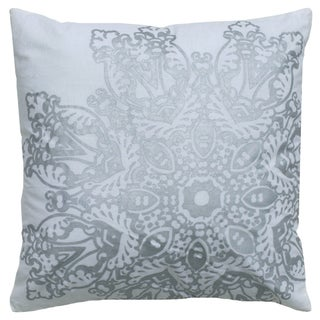 Rizzy Home 18-inch Medallion Throw Pillow