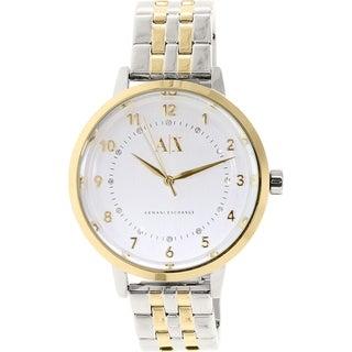 Armani Exchange Women's Stainless Steel Quartz Watch