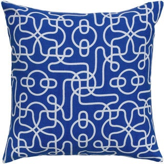 Rizzy Home 18-inch Vermicular Throw Pillow