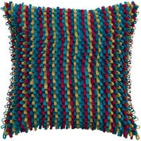 Rizzy Home 18-inch Striped Throw Pillow