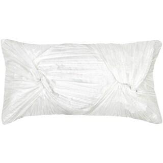 Rizzy Home 11-inch x 21-inch Twist Design Throw Pillow