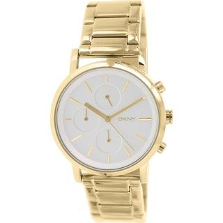 Dkny Women's Soho NY2274 Gold Stainless Steel Quartz Watch