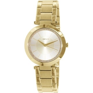 Dkny Women's Stanhope NY2286 Gold Stainless Steel Quartz Watch
