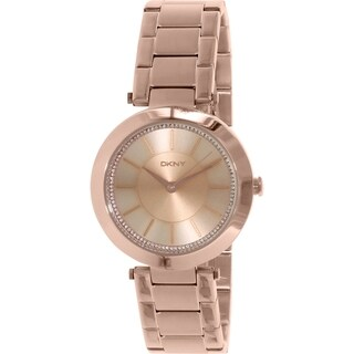 DKNY Women's Stanhope NY2287 Rose Gold Stainless Steel Quartz Watch