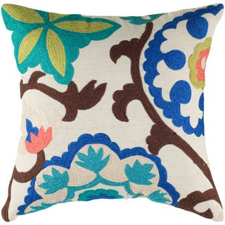 Rizzy Home 18-inch Solid Throw Pillow