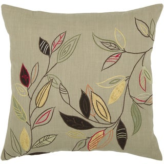 Link to Rizzy Home 18-inch Leaf Throw Pillow Similar Items in Decorative Accessories