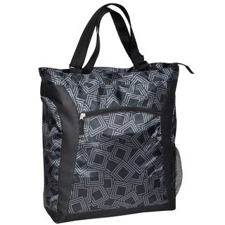 Everest Black and Grey 15-inch Laptop Tote Bag
