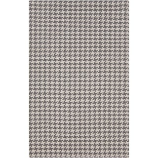 Hand-Woven Roberta Transitional Felted Wool Rug (2' x 3')