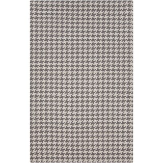 Hand-Woven Roberta Transitional Felted Wool Area Rug - 2' x 3'