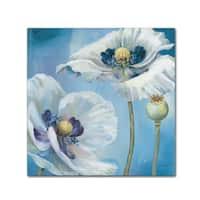 Lisa Audit 'Blue Dance II' Canvas Art