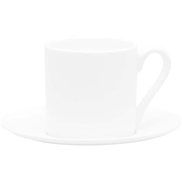 Red Vanilla Espresso Cup/ Saucer 5oz (Set of 4)