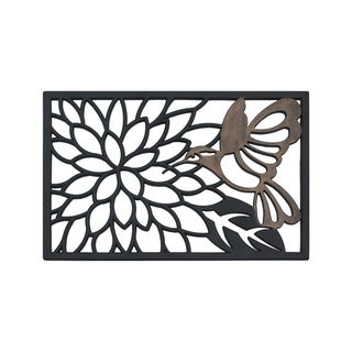 Hummingbird Rubber Doormat (1'8 x 2'6)