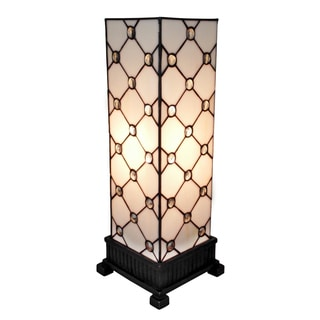 Amora Lighting Tiffany-style Jewel Table Lamp