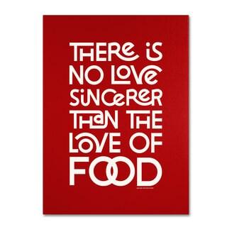 Megan Romo 'Sincere Love of Food II' Canvas Art