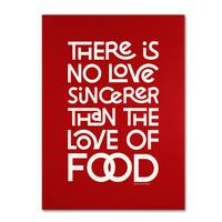 Megan Romo 'Sincere Love of Food II' Canvas Art