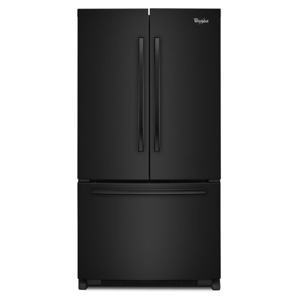 whirlpool 19 6 cubic foot counter depth french door refrigerator free shipping today. Black Bedroom Furniture Sets. Home Design Ideas